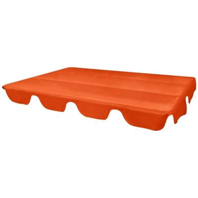 Hintaágy napellenző ponyva tető narancssárga