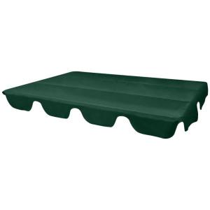 Hintaágy napellenző ponyva tető zöld