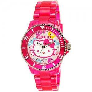 Jet Set Hello Kitty gyerek karóra lányoknak, rózsaszín