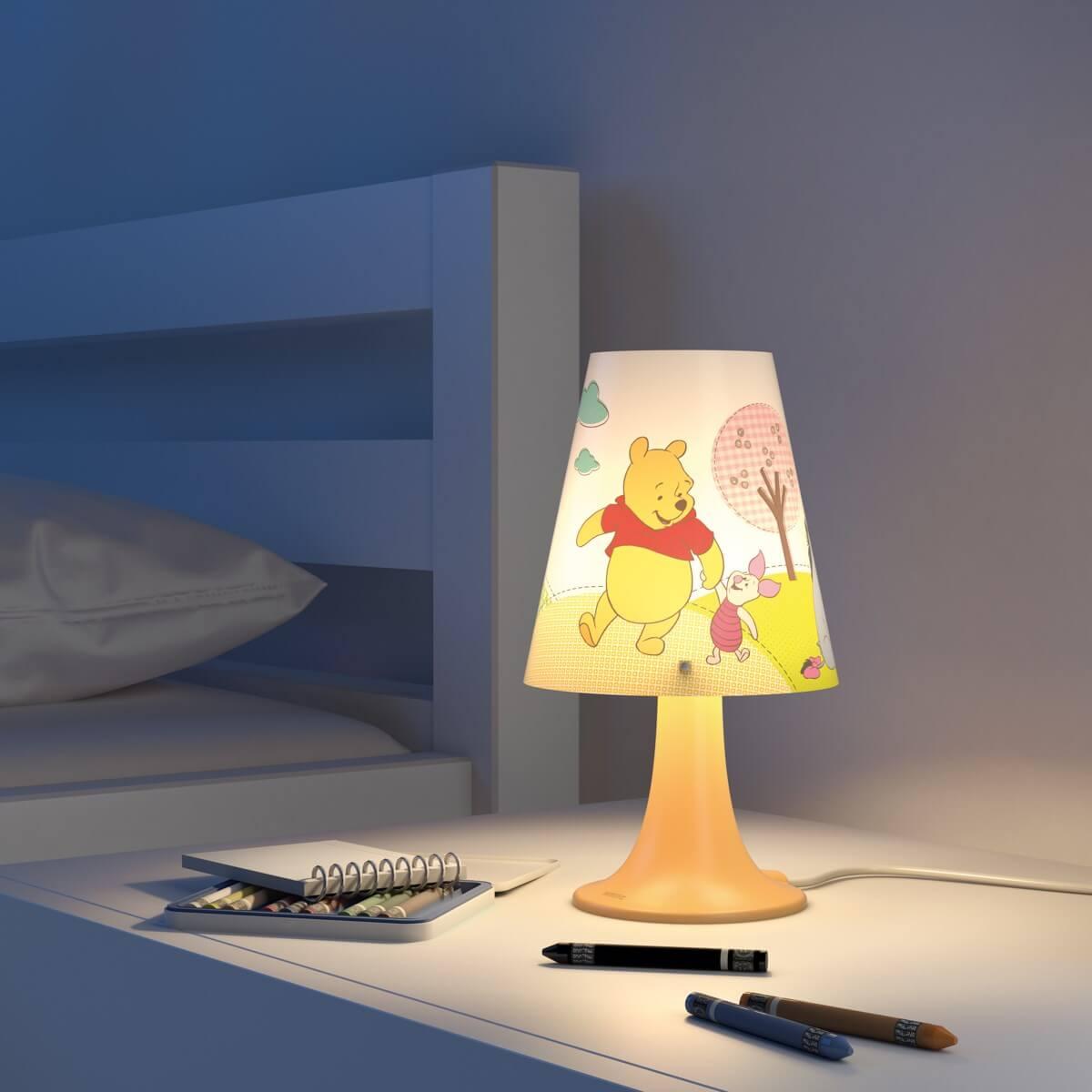 Philips Disney Micimackós asztali gyerek lámpa  2d6f61d947
