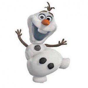 Jégvarázs Olaf hóember fólia lufi