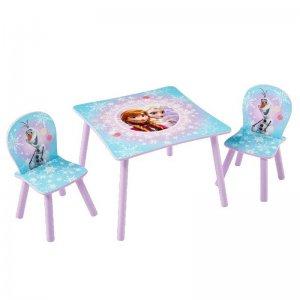 Jégvarázsos gyerekasztal és 2 db szék (Frozen)