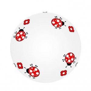 Ladybug katicás mennyezeti gyerek lámpa