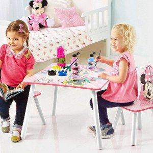 Disney Minnie Gyerekasztal és 2 db szék