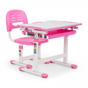 OneConcept Annika gyerek íróasztal székkel