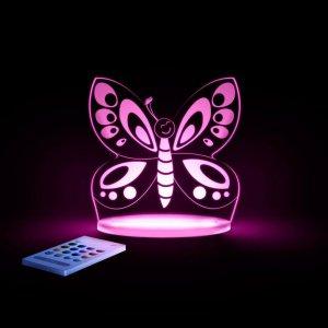 Aloka Pillangós éjjeli lámpa gyerekeknek