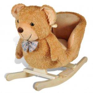 Teddy macis hintaló, gyerek hintaszék