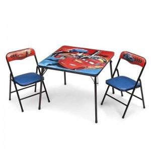 Verdák gyerekasztal székekkel (Cars)