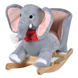 Elefántos gyerek hintaszék, hintaló