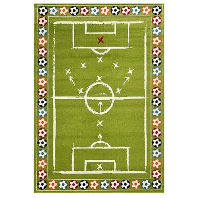 Sky Green focipályás gyerekszőnyeg 80x150 cm