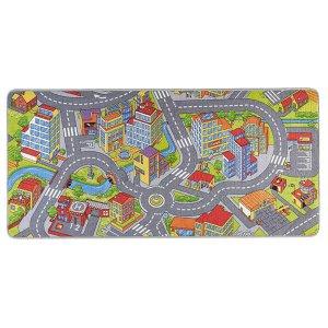 Smart City városos játszószőnyeg gyerekeknek 90x200 cm