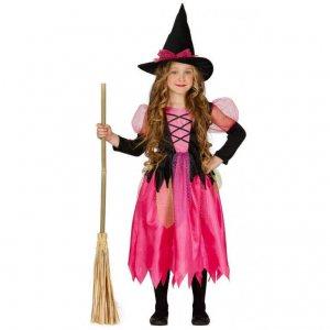 Boszorkányos gyerek jelmez lányoknak