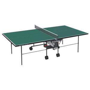 Hervis Schildkröt Alltec összecsukható kültéri ping-pong asztal, zöld