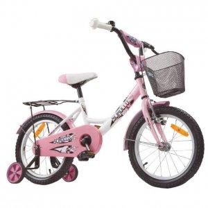 """Scirocco Flower 16"""" gyerek bicikli, kerékpár kislánynak, rózsaszín"""