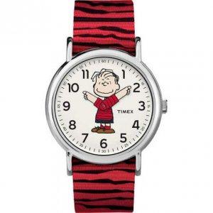Timex x Peanuts - Linus mozgó karú gyerek karóra