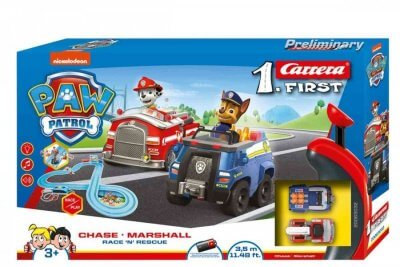 Carrera First - 63032 PAW PATROL - Race 'N' Rescue